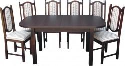 Zestaw IGA Stół+6 krzeseł