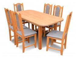 """ZSTAW """"EWA"""" stół+6 krzeseł PROMOCJA"""