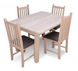 """Zestaw """"ERYK"""" stół+4 krzesła"""