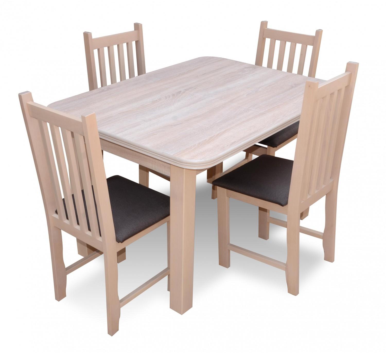 Zestaw Eryk Stół4 Krzesła
